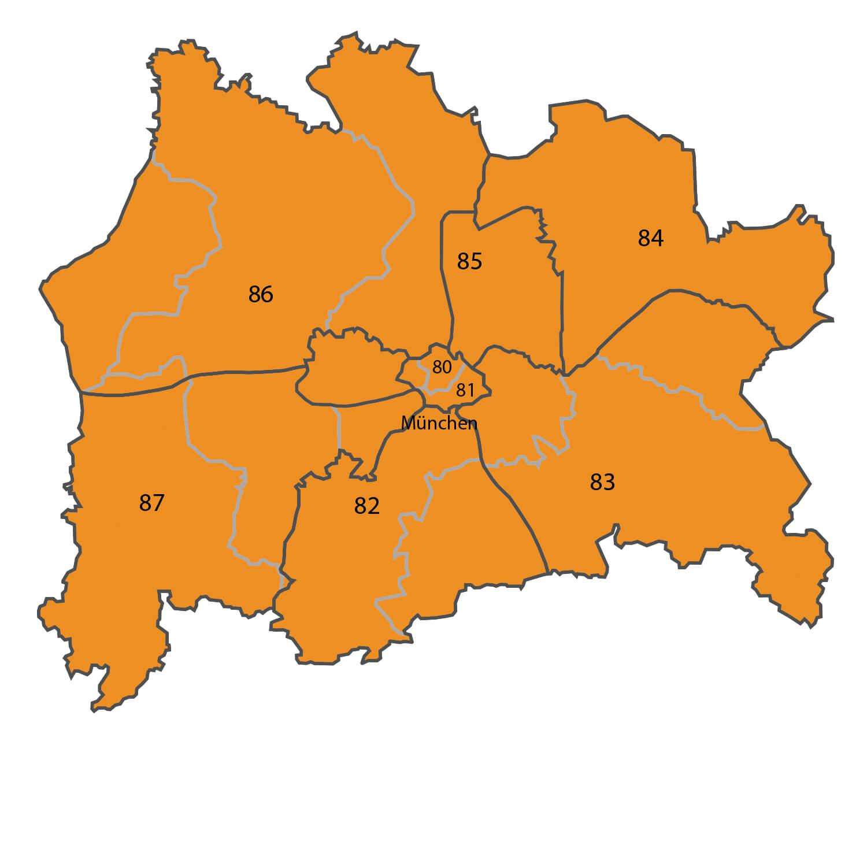 Gebietskarte - Dipl. Ing. Artur Henneberg