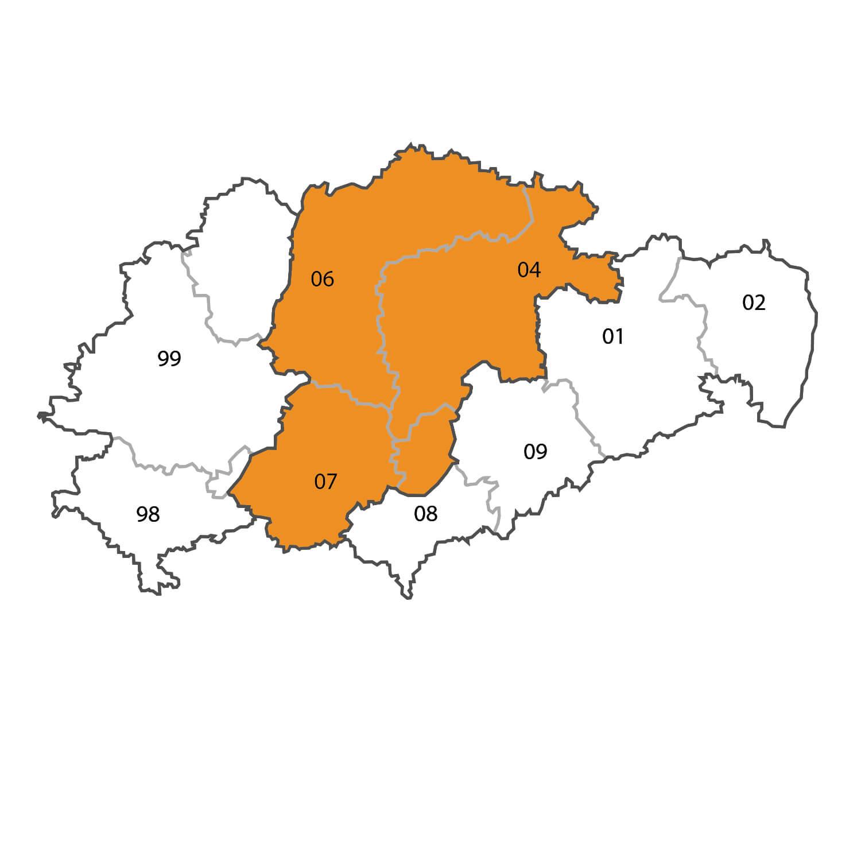 Gebietskarte - Christoph Näser