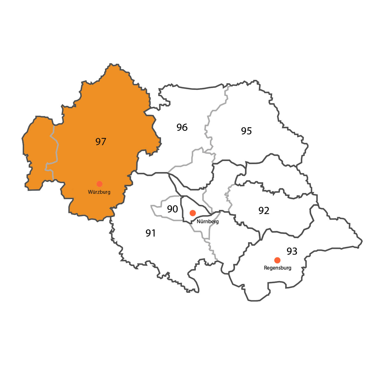 Gebietskarte - Jochen Kunkel