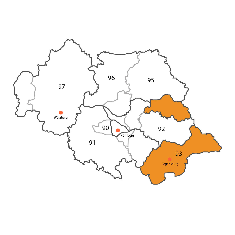 Gebietskarte - Sascha Rieger