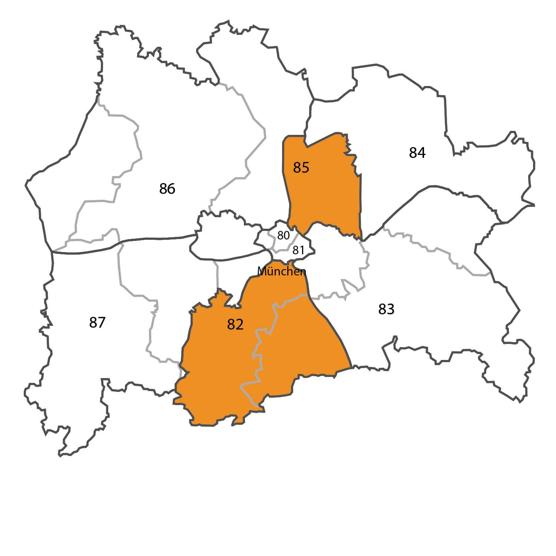 Gebietskarte - Falk Fabian