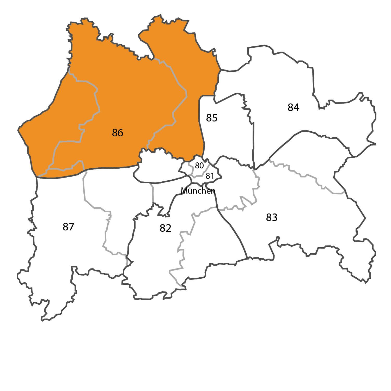 Gebietskarte - Herbert Brendel