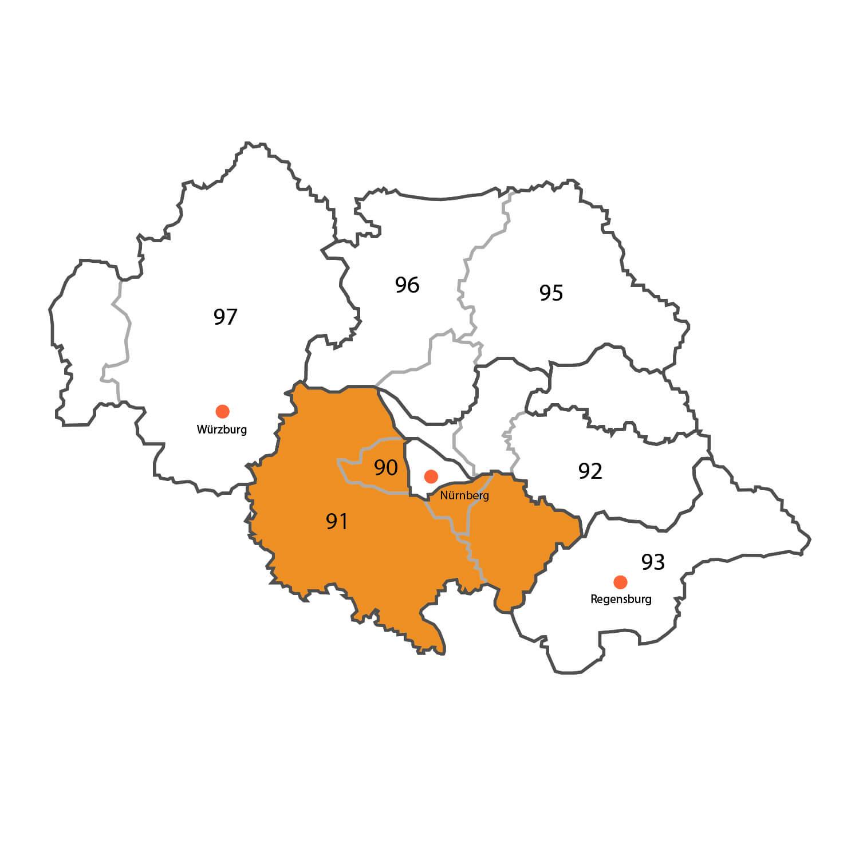Gebietskarte - Rainer Hofmann
