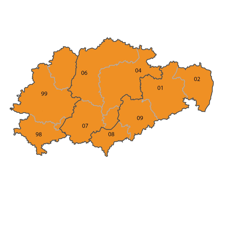 Gebietskarte - Rene Geyer