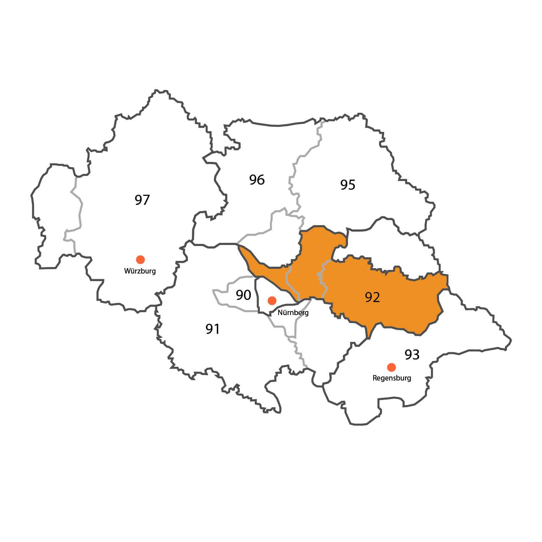 Gebietskarte - Stefan Prietzel